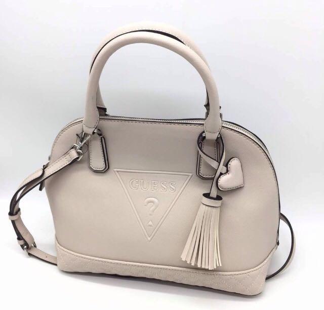 991f71b2f5e3 AUTHENTIC GUESS Baldwin park Dome Satchel Handbag