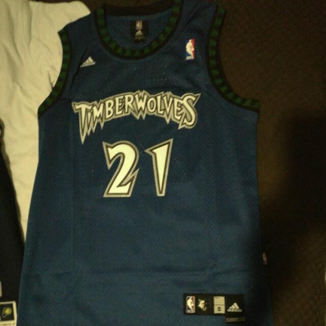 Basketball Jersey rare KG Kevin Garnett Vintage timberwolves Jersey ... f0f445ece