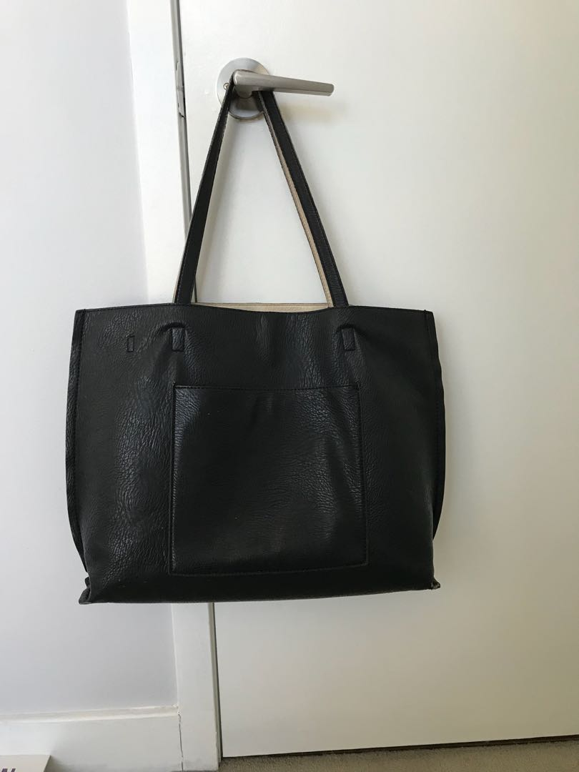 Black Urban Outfitters Tote Bag