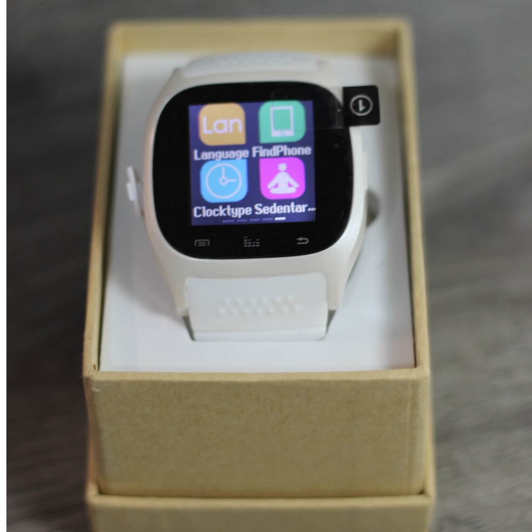 Bluetooth White Smart Watch