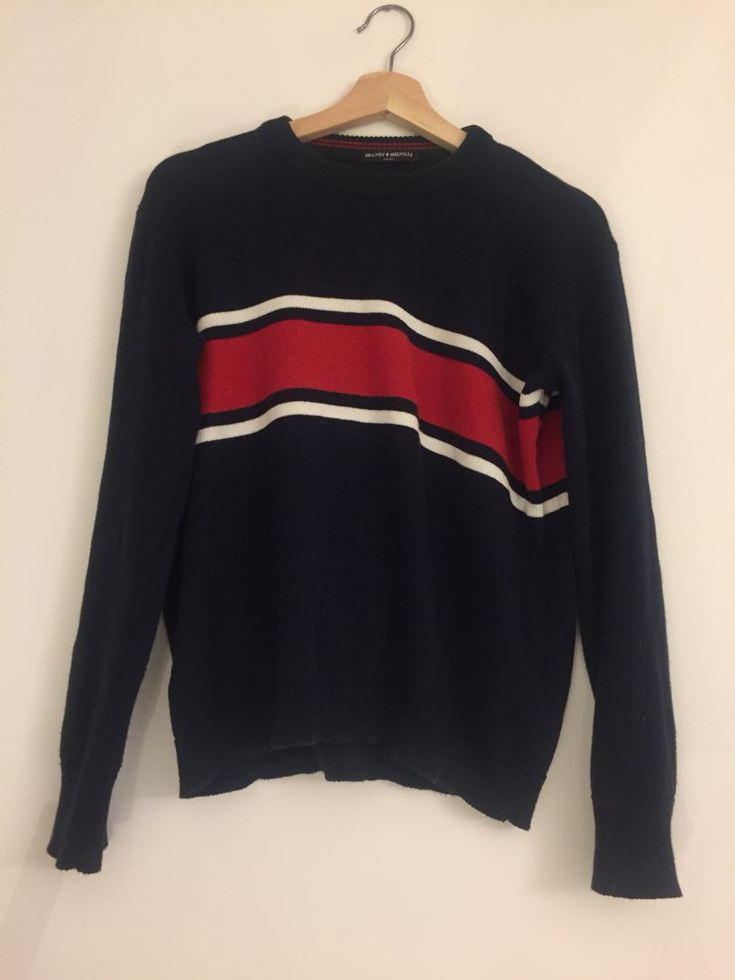 Brandy Melville sweater red striped