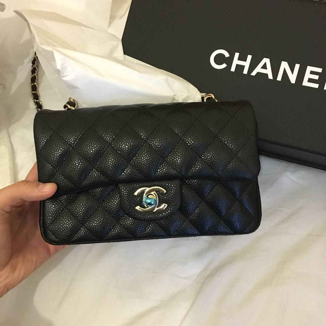 9bbc3154e8fb Chanel classic flap mini 20cm, Luxury, Bags & Wallets on Carousell