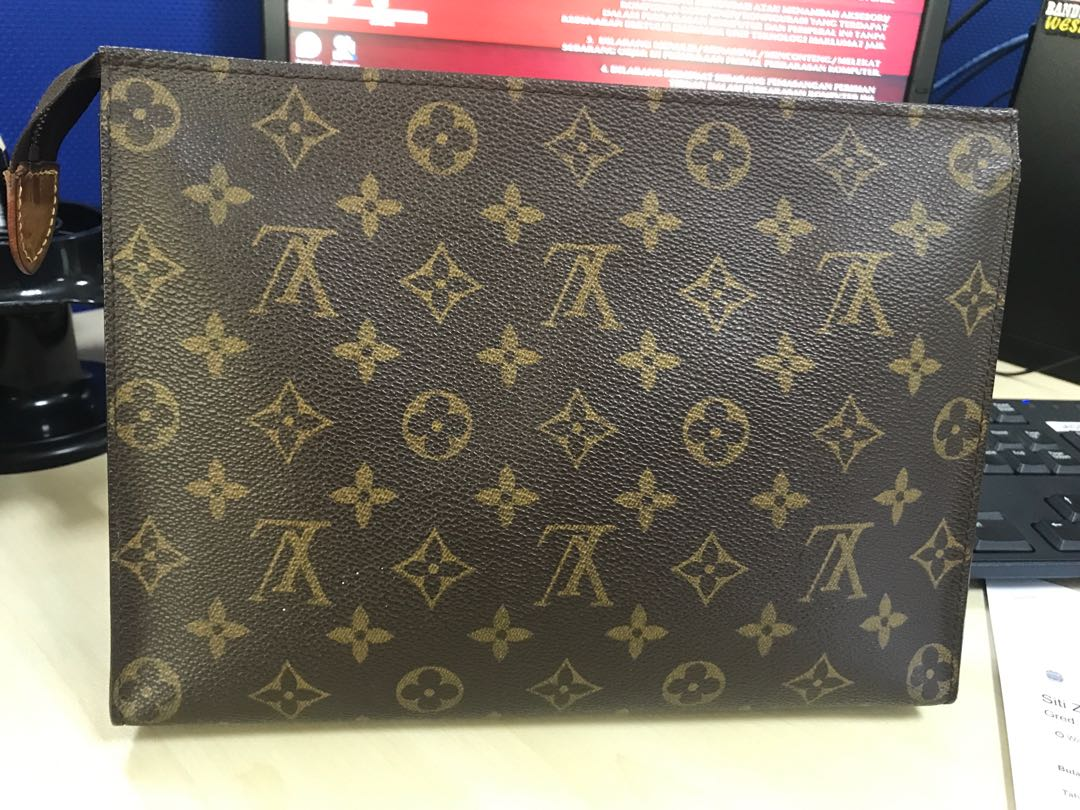 b8f0d40e31fdb Clutch Lv original 100% and long wallet LV original 100% made in ...