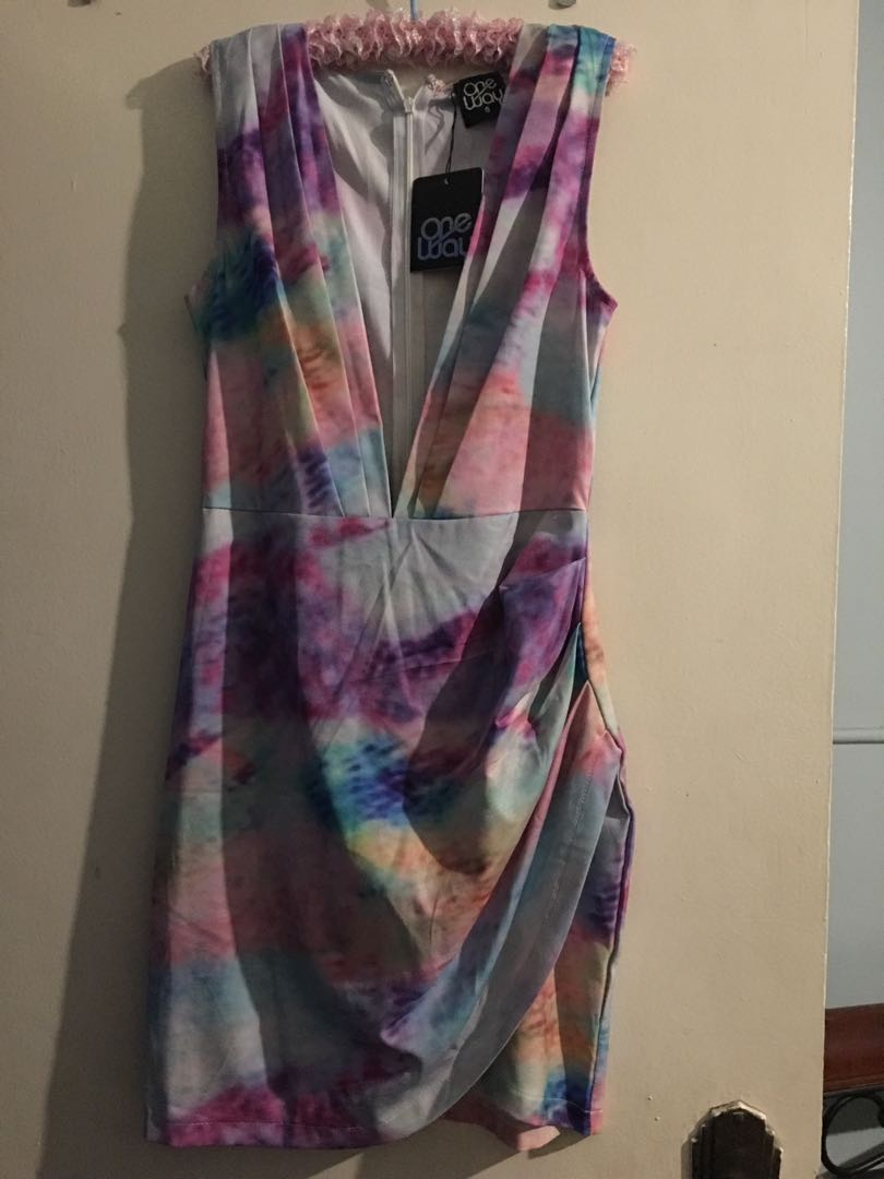 Coloured dress
