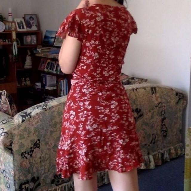 DOLLYGIRL Wrap Dress