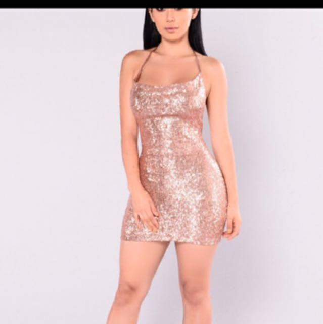 a4d9d854f5e Fashion Nova sparkly mini dress