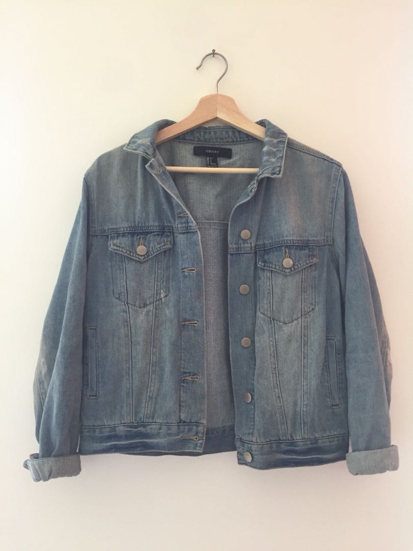 Forever 21 jean jacket