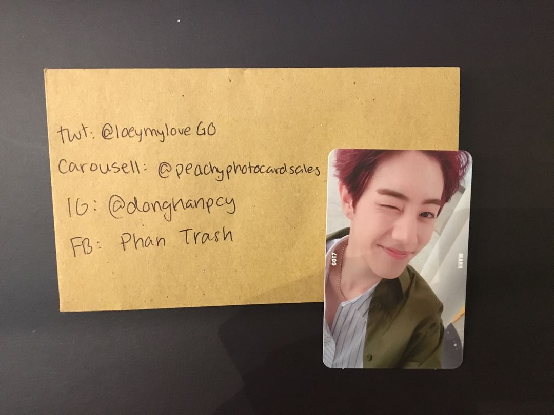 GOT7 Mark 7 for 7 Selca Photocard