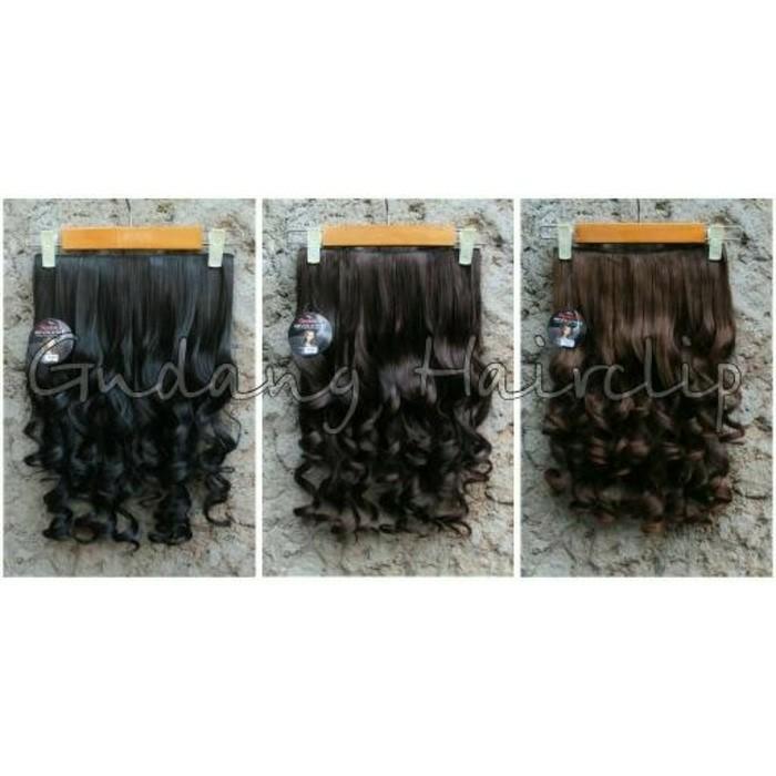 Hair clip kriting sosis