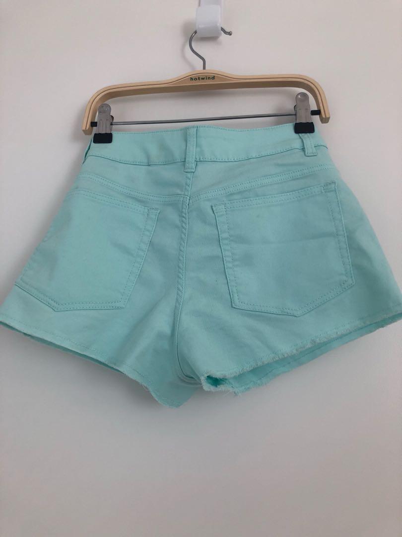 H&M x Coachella ripped shorts