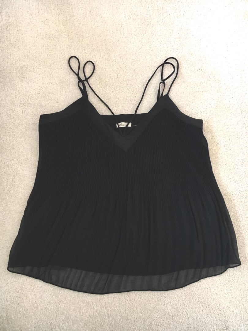 Hollister Chiffon Tank Top