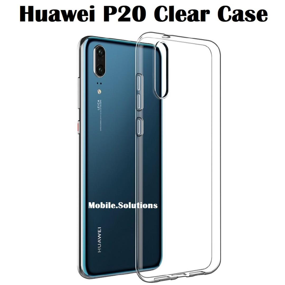 purchase cheap e912d e82f6 Huawei P20 Clear / Transparent Case (Anti Water Marks)