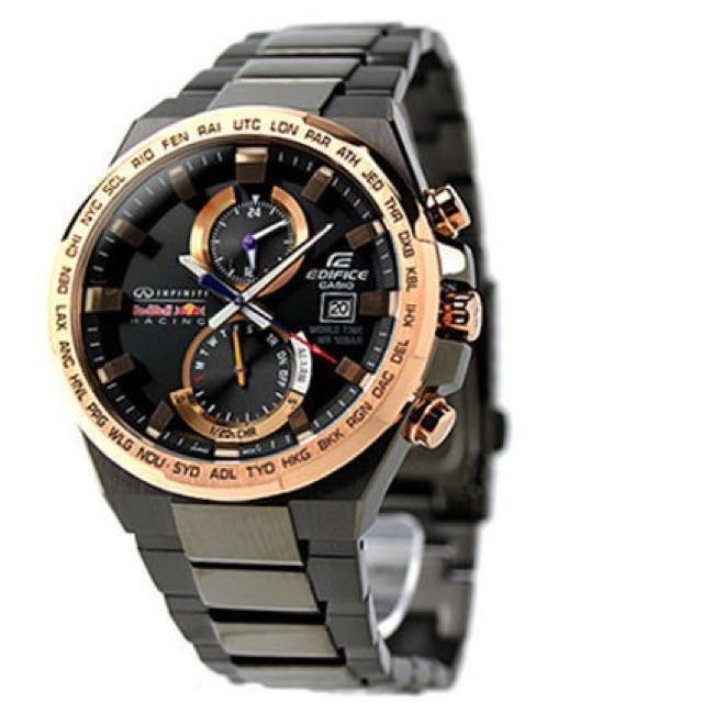 e54d55eed311 INTRODUCING  100% ORIGINALLY AUTHENTIC CASIO EDIFICE INFINITI RED BULL LIMITED  EDITION F1 RACER DIVER SPORTS WATCH EFR-542RBM-1ADR OFFICIALLY BY G-SHOCK  ...