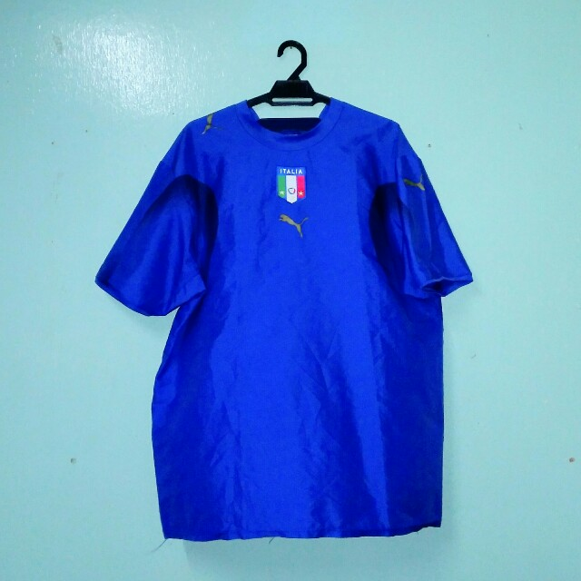 1bb34cc0e1d Italy Home Jersey World Cup 2006