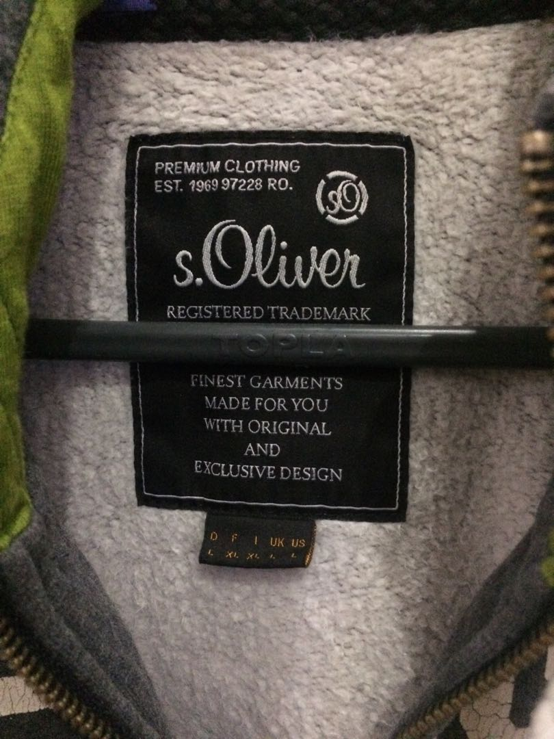 classic shoes many fashionable exquisite style Jacket S.Oliver, Men's Fashion, Men's Clothes on Carousell
