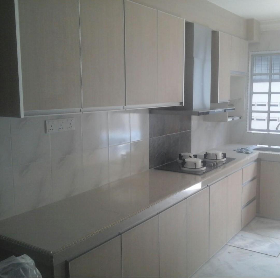 Kitchen Cabinet concrete table gaya sendiri, Home & Furniture ...