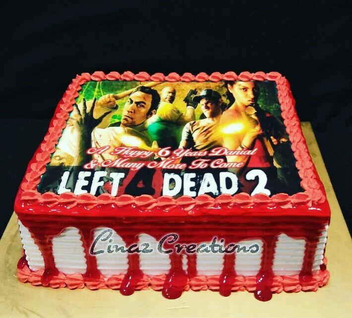 Left 4 Dead 2 Theme Birthday Cake Need a CUSTOMISED CAKES