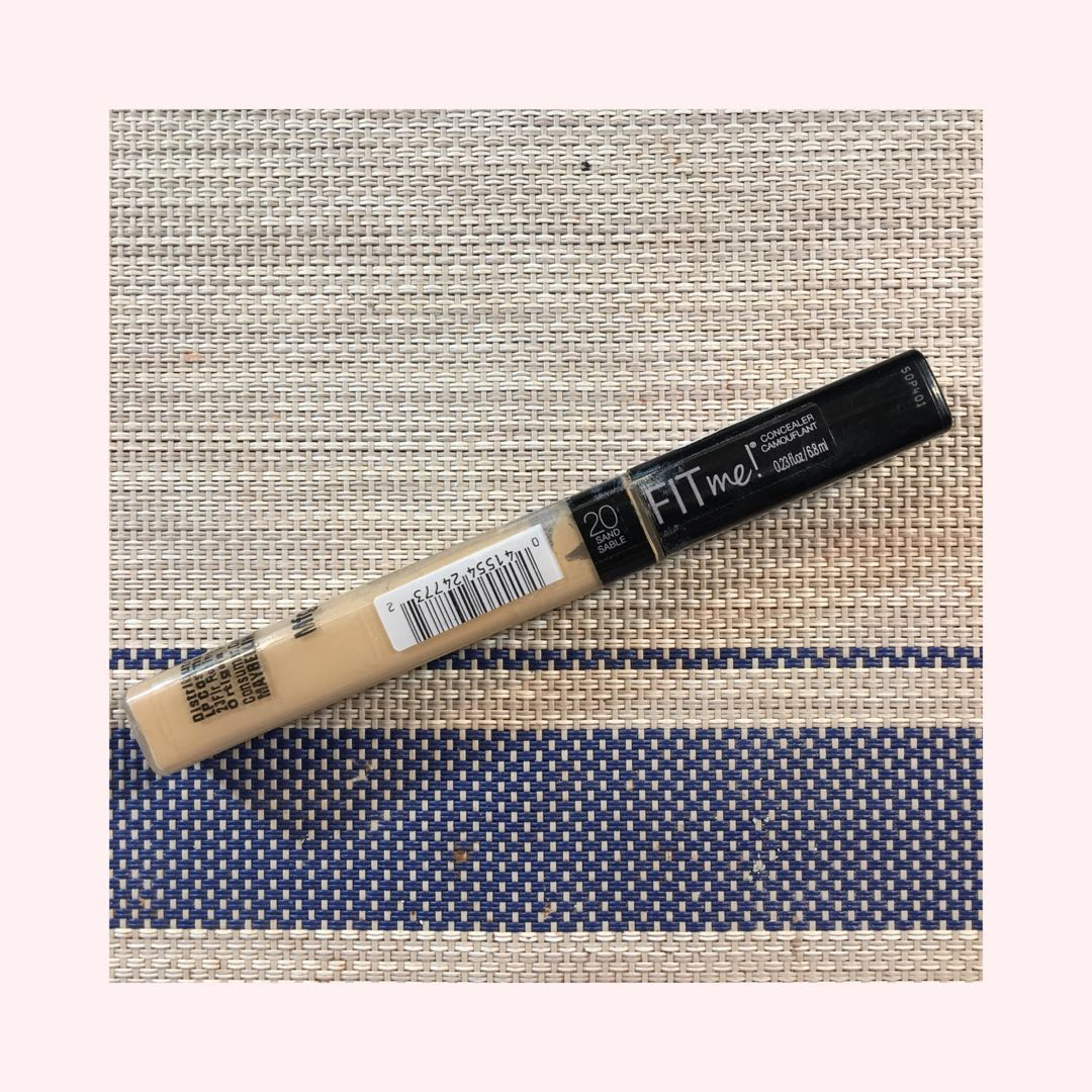 Maybelline Fit Me Concealer In 20 Sand Health Beauty Makeup On Carousell