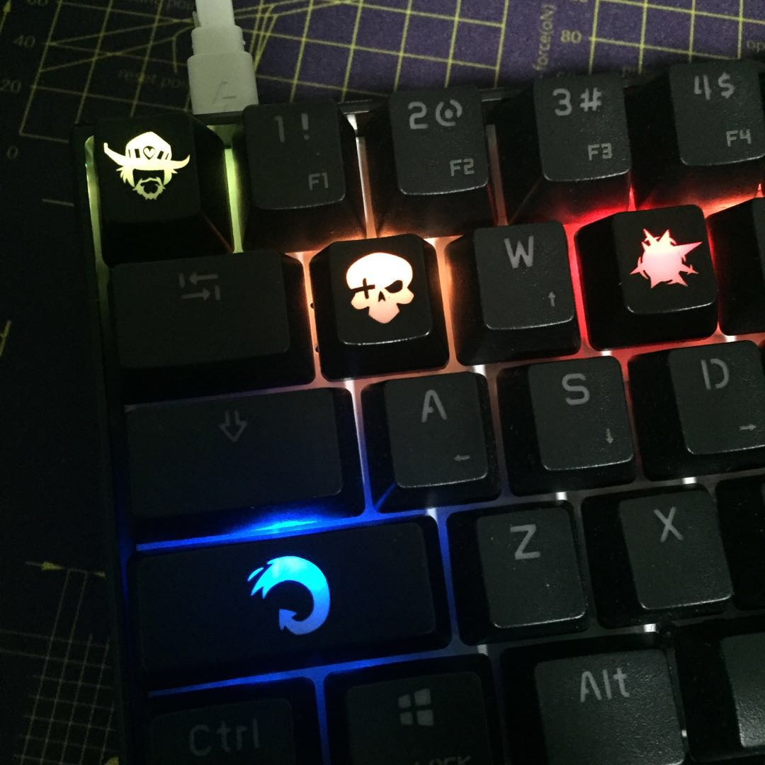 Mccree keycap , Electronics, Computer Parts & Accessories on