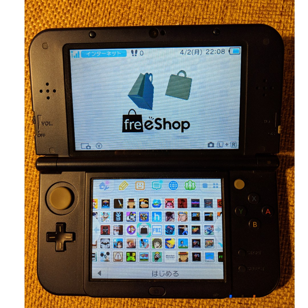 New Nintendo 3DS XL (Modded with freeShop), Toys & Games