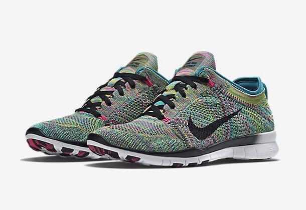 Nike Free TR 5 Flyknit Multicolour