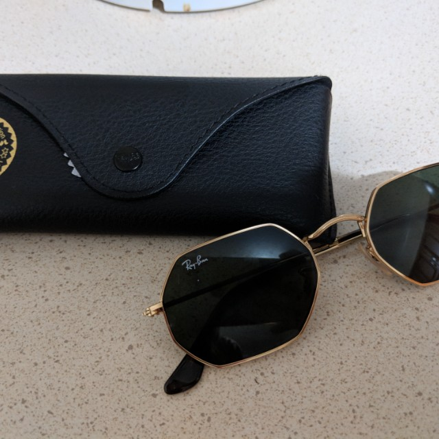 Original raybans trendy octagon sunnies