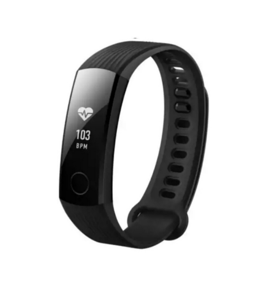 "Original Smart Wristband Swimmable 5ATM 0.91"" OLED Screen Touchpad Heart Rate Monitor Push Message Huawei Honor Band 3"