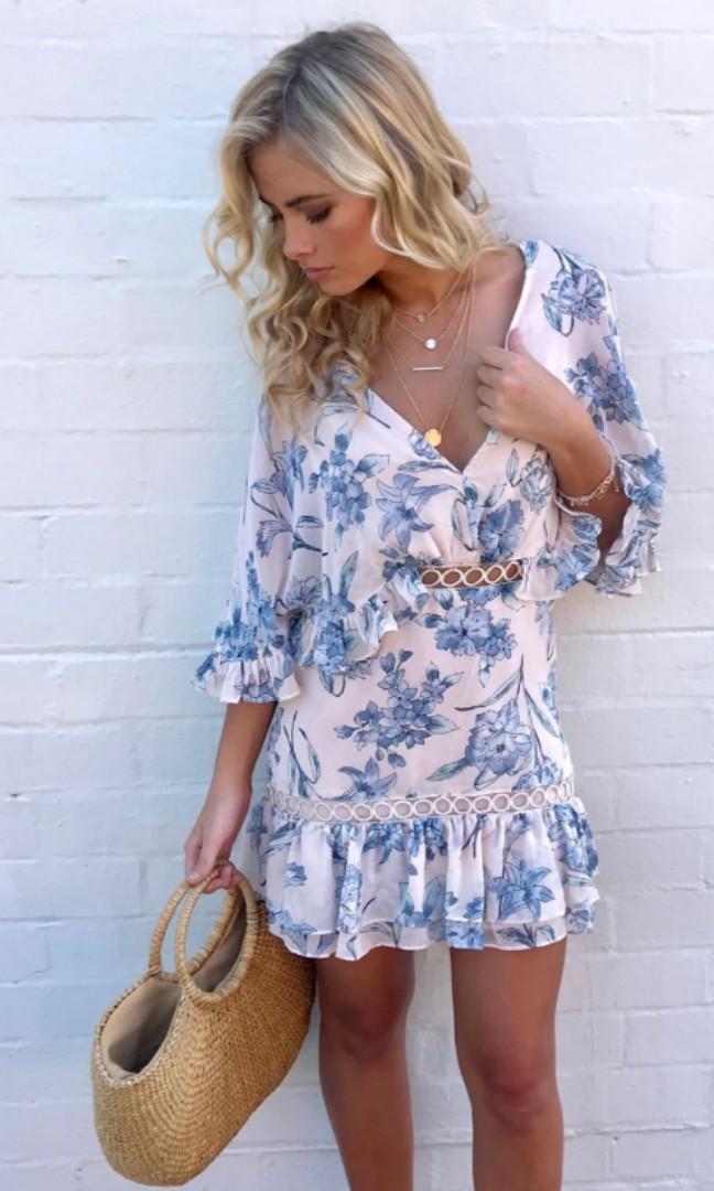 Petal & pup floral dress