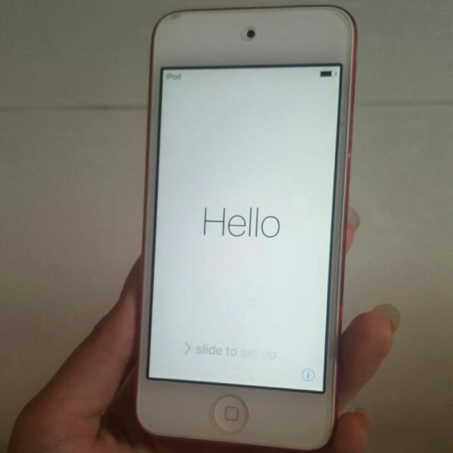 pink ipod 5th generation