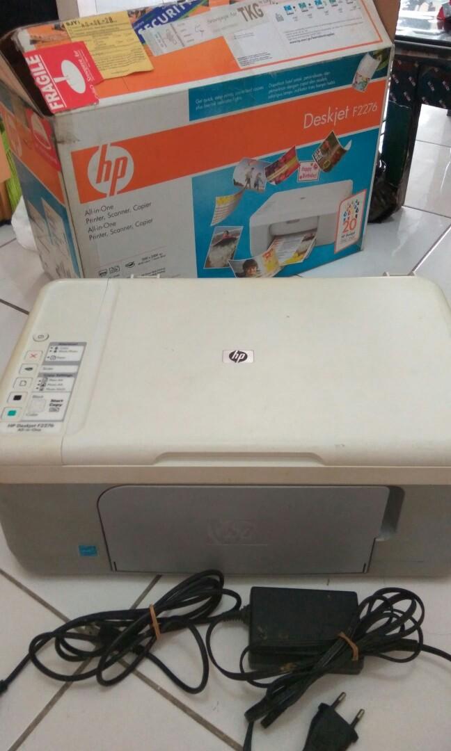 Printer Hp Deskjet F2276 Elektronik Bagian Komputer Aksesoris Di Carousell
