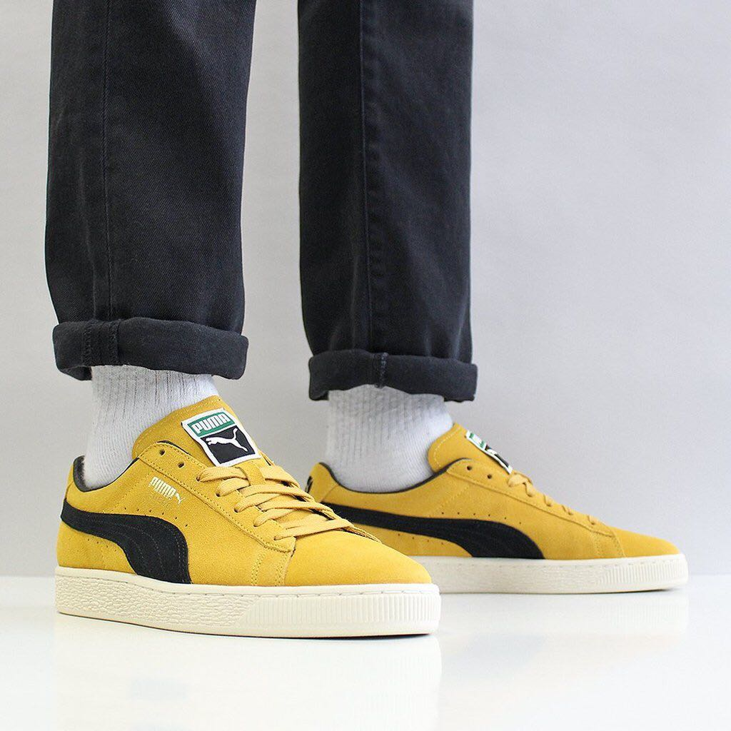 pretty nice b56be bff2f Puma Suede Classic Archive Yellow / Black