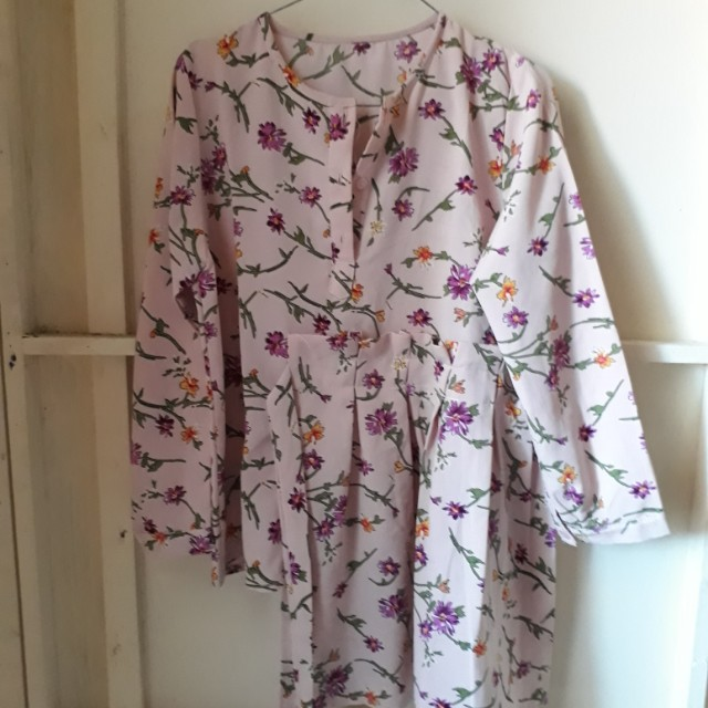 [SALE] Blouse mayoutfit pink flowers