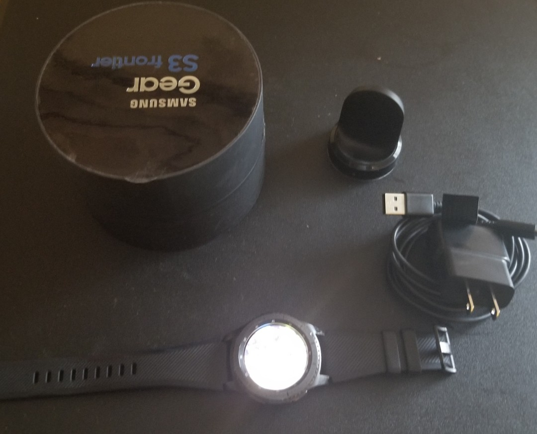 Samsung S3 Gear Frontier Smartwatch