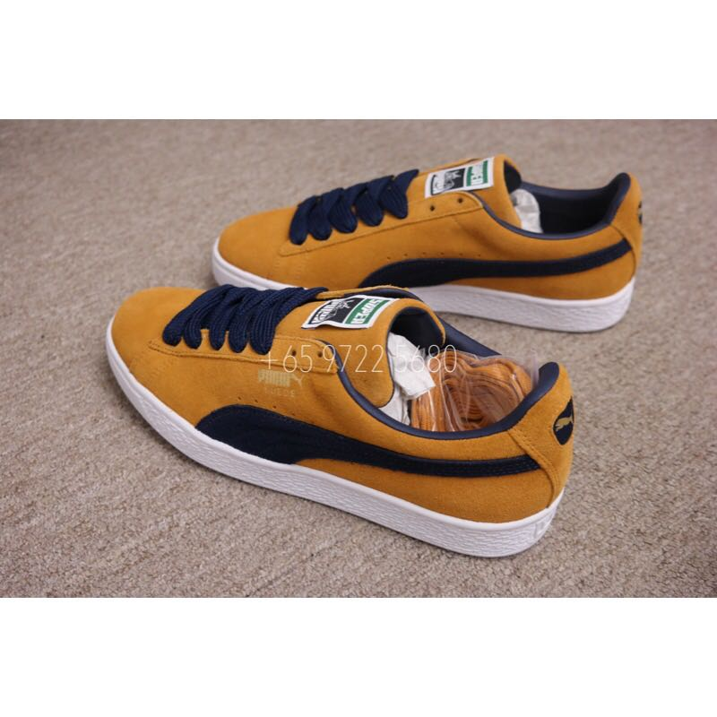 Suede Super Puma Men Sneaker Inca Gold-Peacock 6c6ccf795
