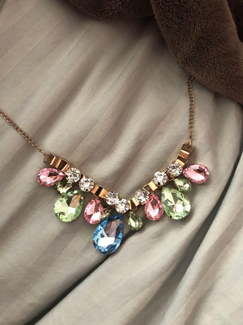 Summary necklace