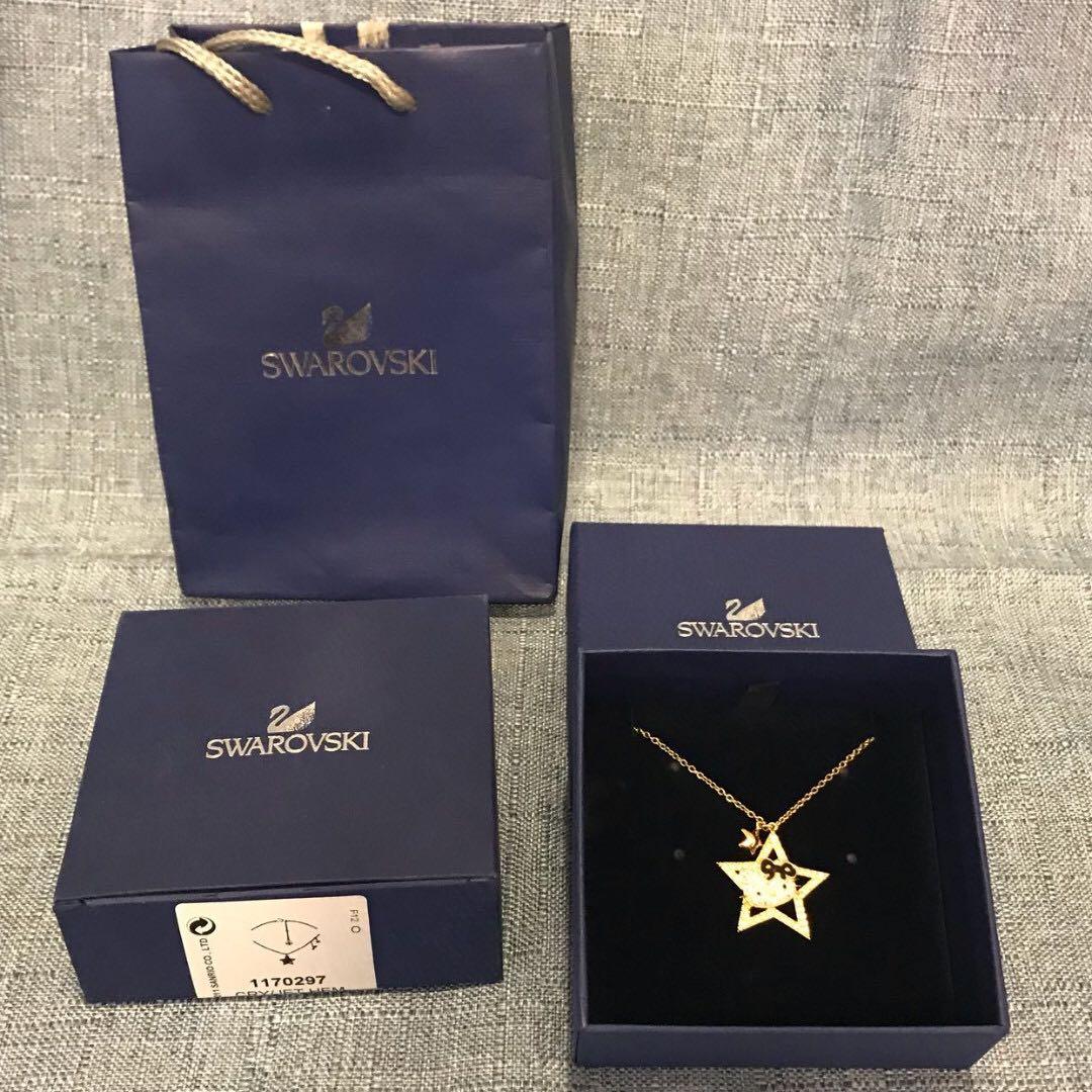 2eaa2b25d Swarovski Hello Kitty Rock Star Necklace (1170297), Luxury, Accessories on  Carousell