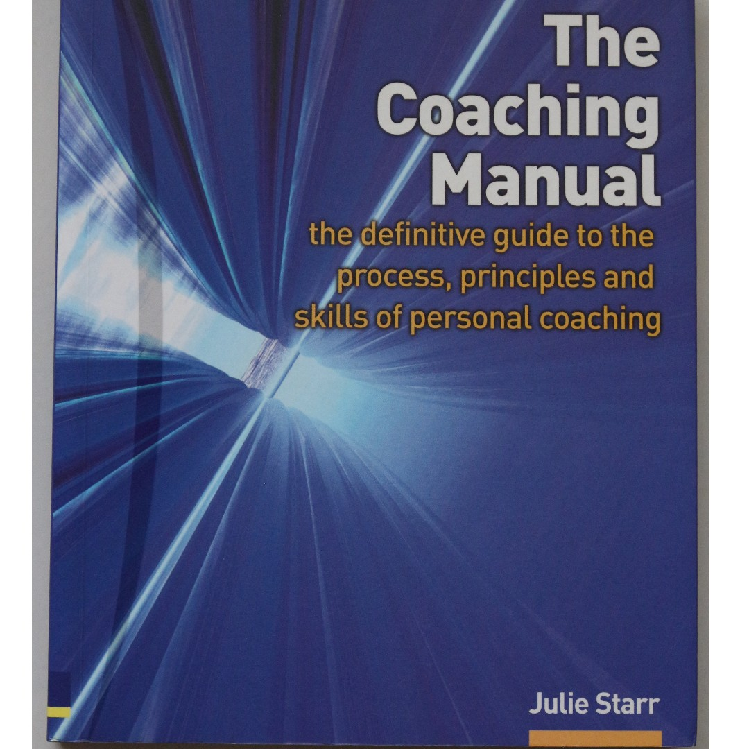 the coaching manual author julie starr books stationery fiction rh sg carousell com the coaching manual julie starr pdf Sewing Julie Starr