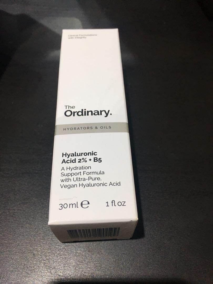 The ordinary b5+hyalutonic acid 2%