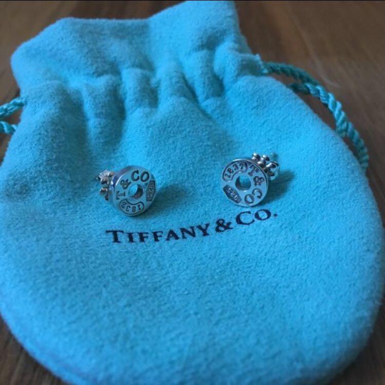 Tiffany & Co 1837 Sterling Silver Earrings