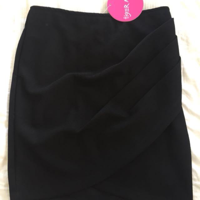 Tiger mist mini skirt high waisted