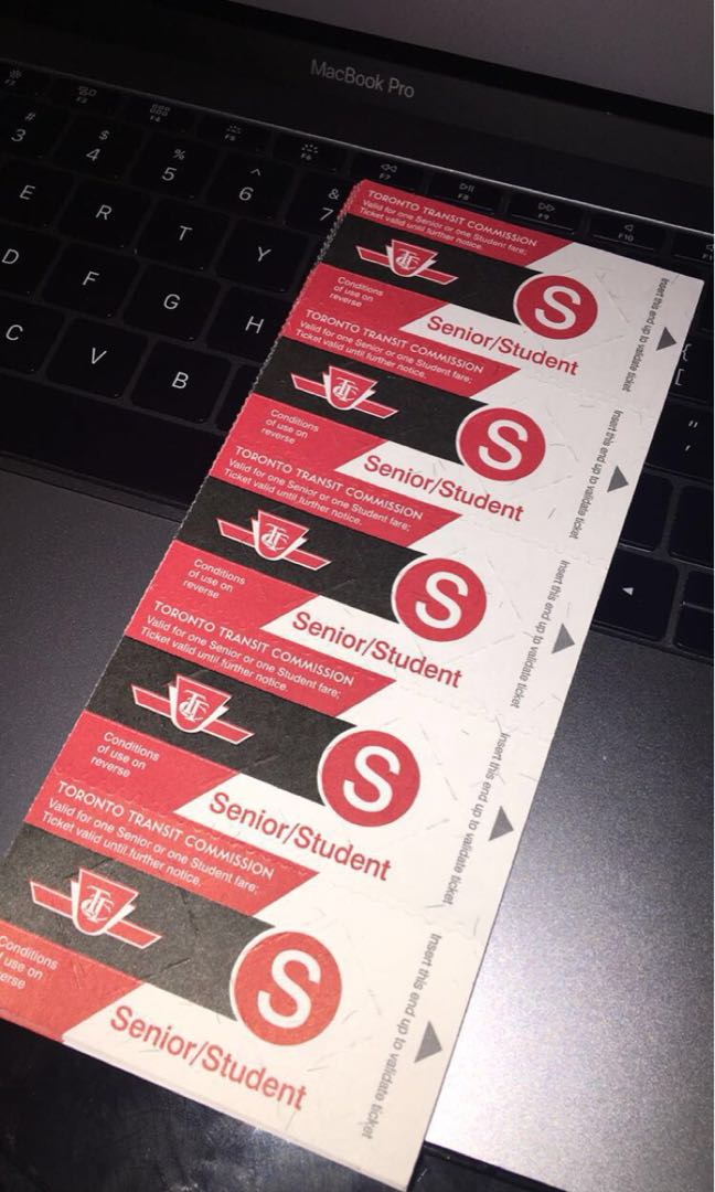 Ttc tickets