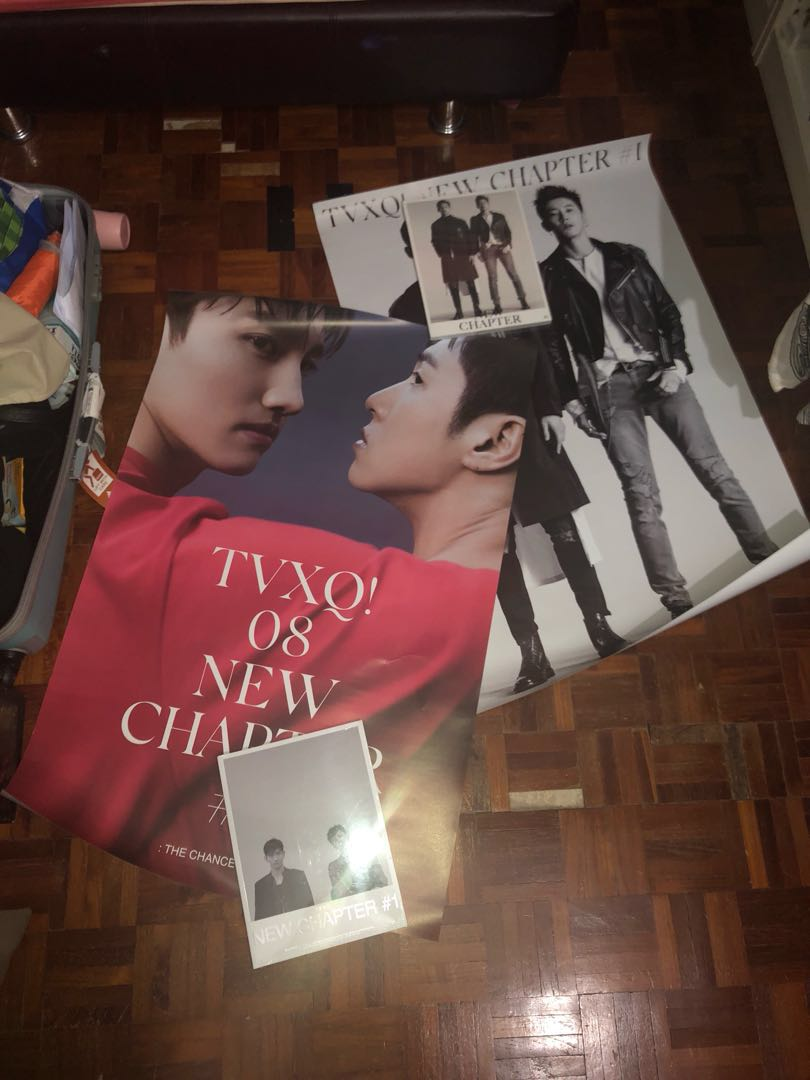 8th album New Chapter #1 : The Chance of Love OFFICIAL POSTER A Ver TVXQ
