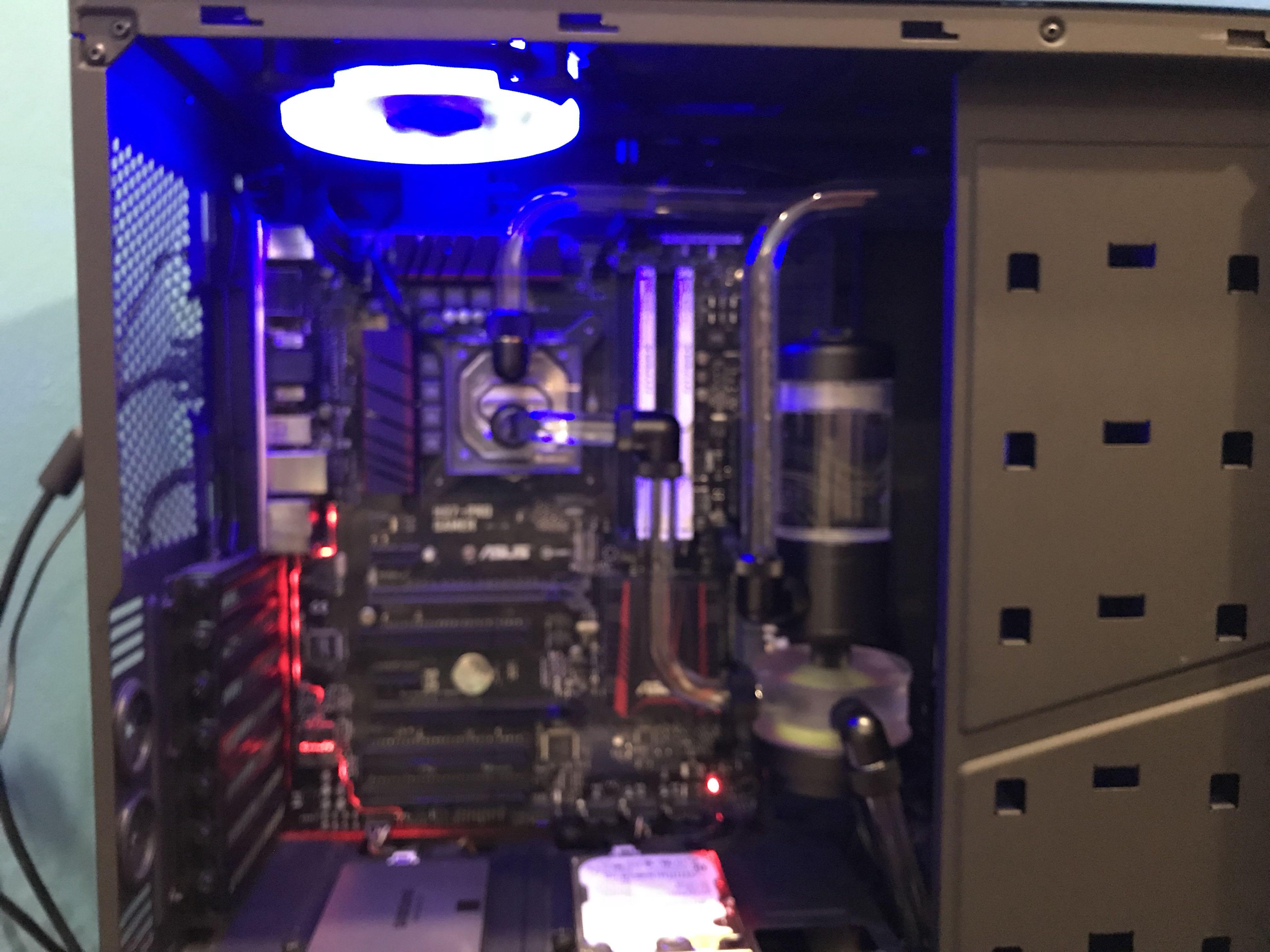 Watercooling for CPU
