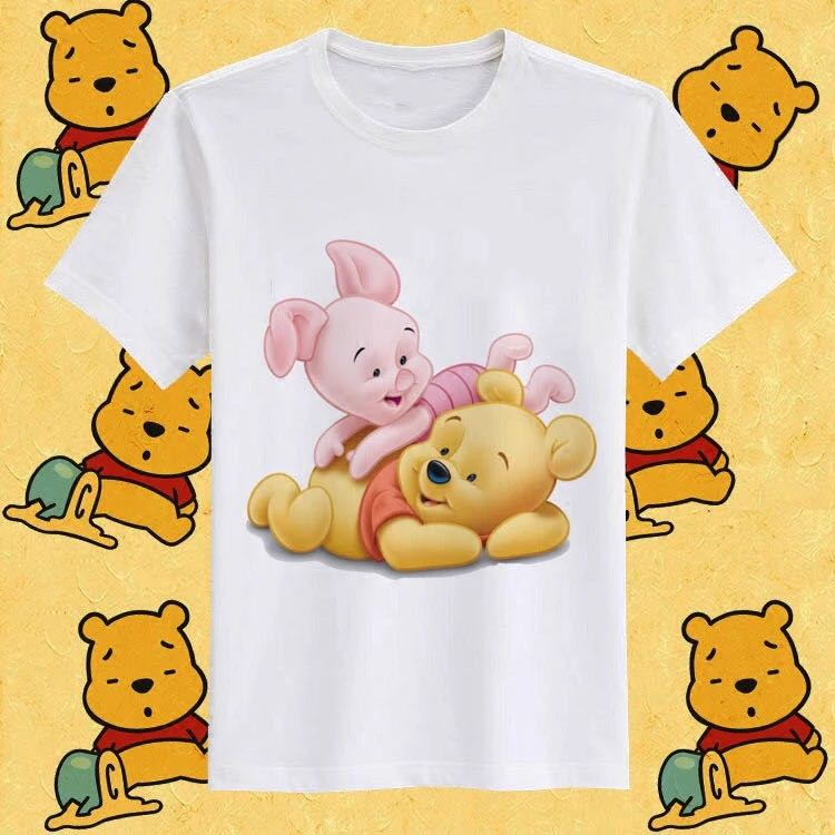 e07bd1ae6be3 Winnie The Pooh T-Shirt, Women's Fashion, Clothes, Tops on Carousell