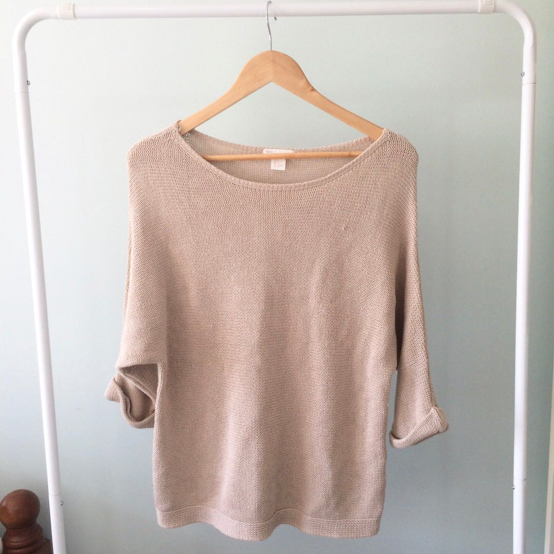 Winter knit jumpers