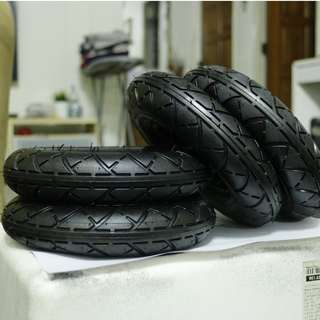 """Tyres/Tubes for 8"""" inch scooters."""