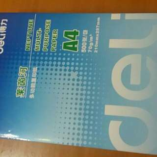 出售全新A4紙(500張)