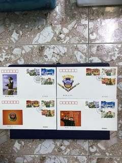 China Stamp 1998-4 A/B FDC