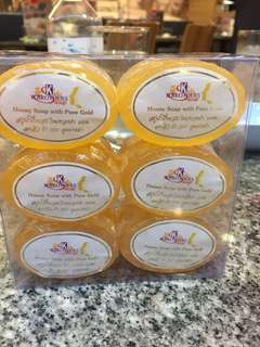 K Brothers - Honey soap with pure gold - 30gram