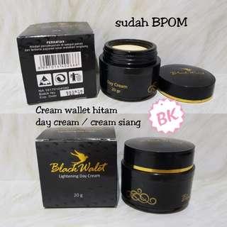 [DAY CREAM] Black Walet Lightening Day Cream / Cream wallet hitam